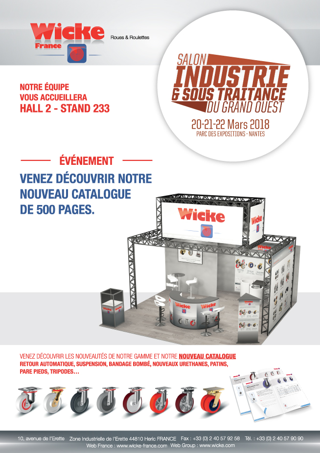 Salon de l'industrie 2018 à Nantes