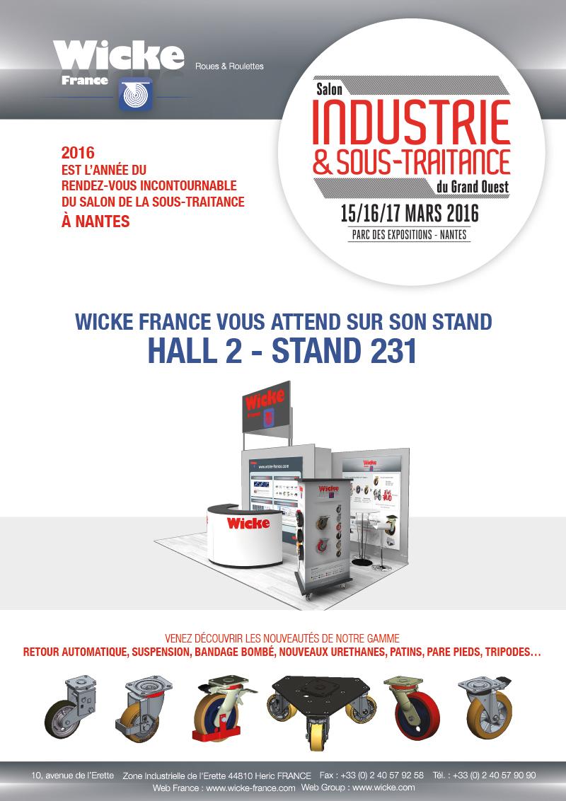 Salon industrie sous traitance nantes wicke france for Salon de l industrie nantes