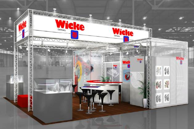 Wicke expose Au salon de la MANUTENTION